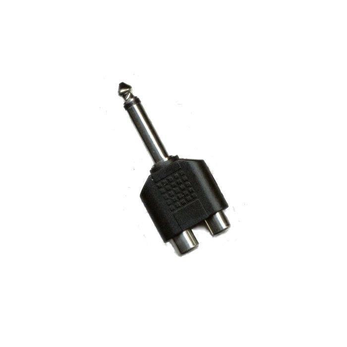 Plug Mono 6.5 2 Jack Rca