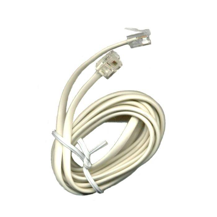 Cable C/conectores 7.5 Mts