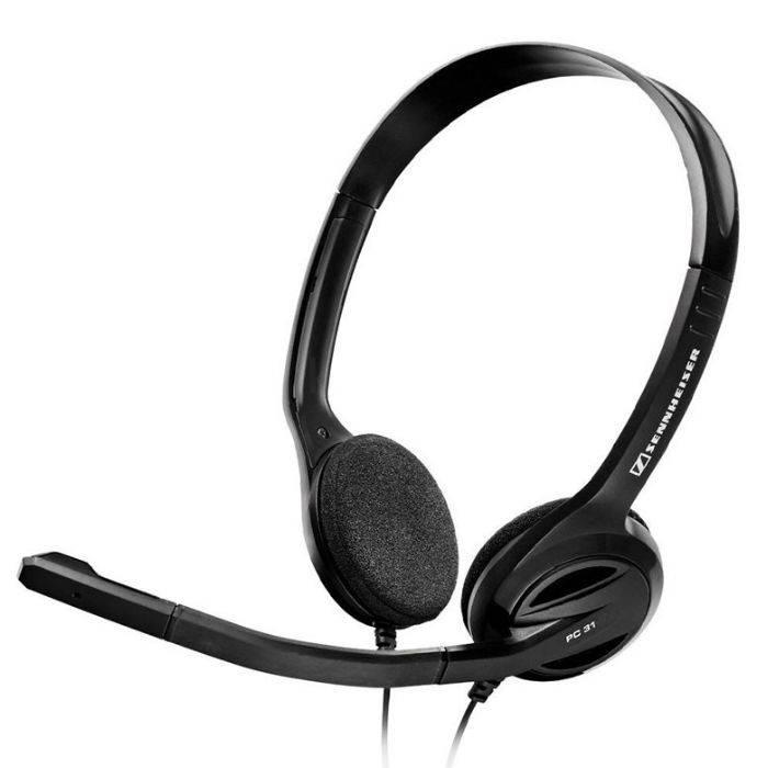 #auricular Con Microfono Para Pc Diseño Ergonomico2 Oreja, Mic Omnidireccional,