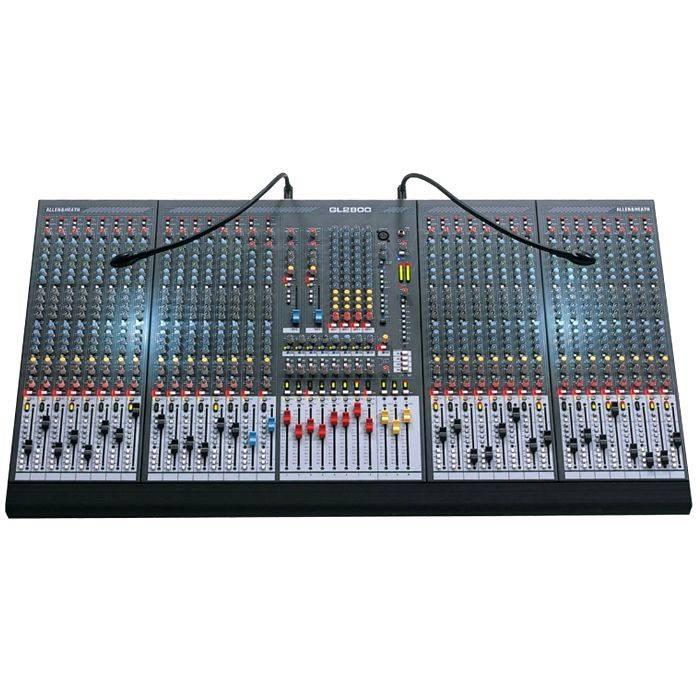 #(*) Consola 30 Ch Mono Xlr, Canal 31 Y 32 Mono Xlr Y Dual Stereo, 8 Sub.  Fader