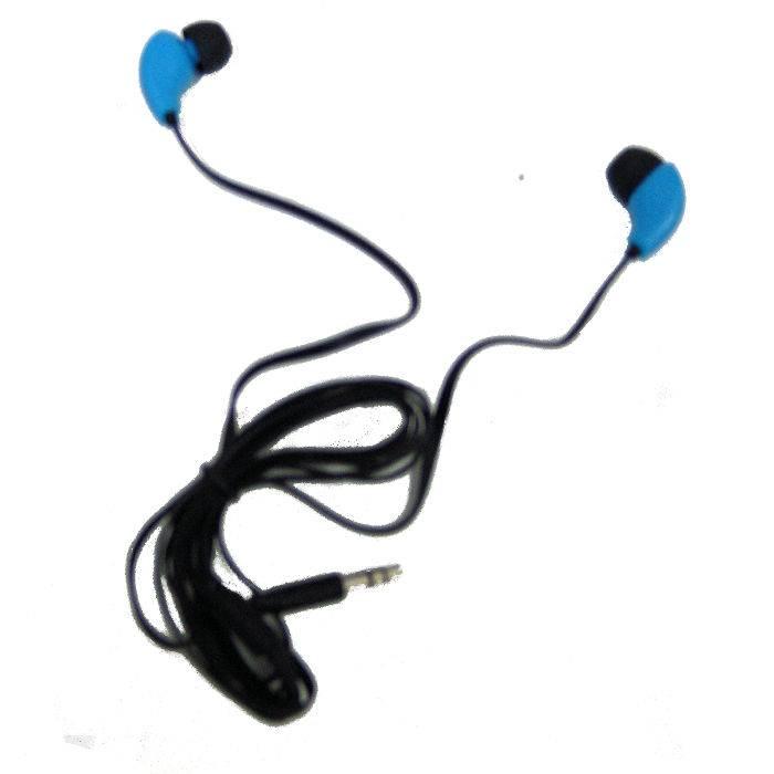 Auricular Alambrico Ma2001bl Azul