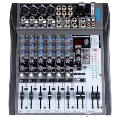 (*) Mixer Moon 8 Canales C/efe  Inc. Fuente