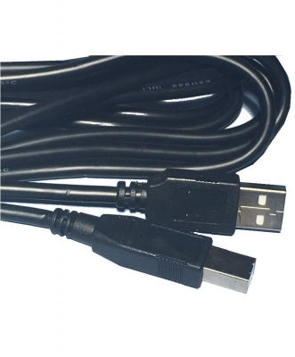 Cable Usb-usb Macho 1.80 Mts