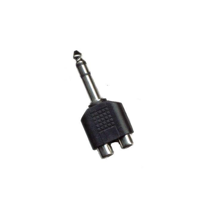 Plug St 6.5 2 Jack Rca