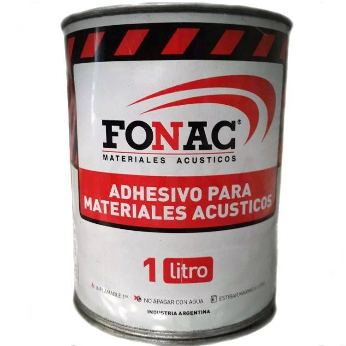 Adhesivo Fonac De 1 Litro. Rinde Alrededor De 3m Cuadrados
