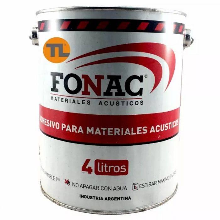 Adhesivo Fonac De 4 Litros. Rinde Alrededor De 10m Cuadrados
