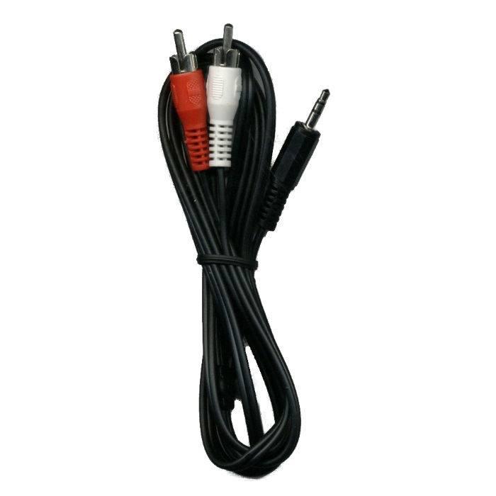 Cable Plug 3.5 St 2 Plug Rca