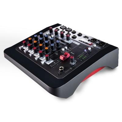#(*) Mixer 2 Canales Mic/line, 2 Estereo Compatible Con Mp3