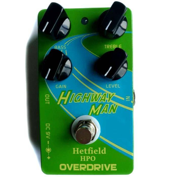 Pedal Con Efectos Para Guitarra Overdrive