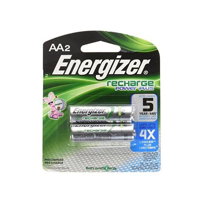 #pila Energizer Aa Recargable 2000mah Nh15 Blister 2pcs Precio Por Unidad