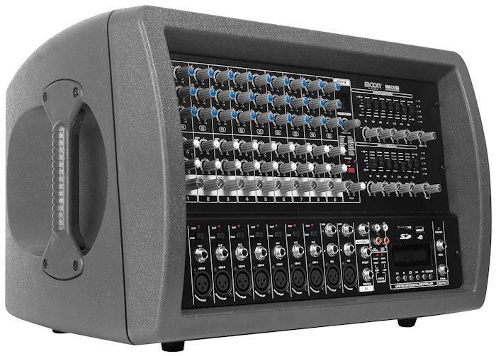 (*) Mixer Moon 12 Canales C/amp. Y Usb