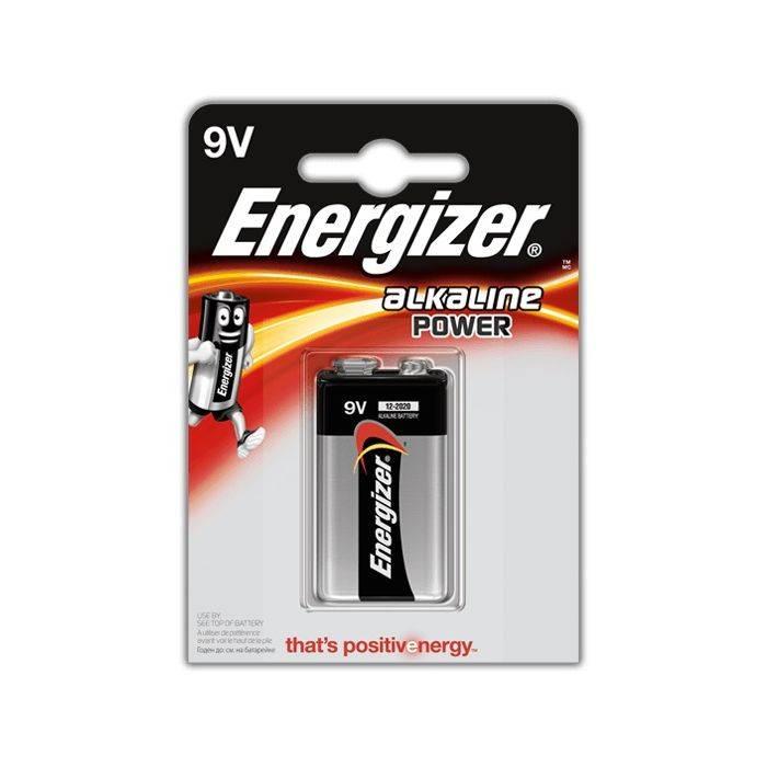 #bateria Energizer 9v E522