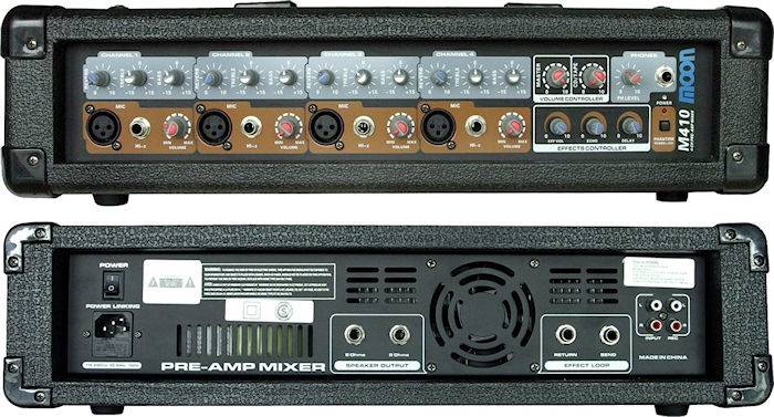 (*) Mixer Moon 4 Canales C/amp.