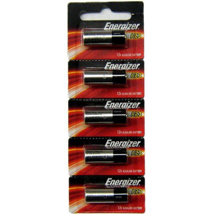 #pila Energizer Electronica A23 Blister 5pcs Precio Por Unidad
