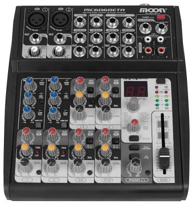 (*) Mixer Moon 6 Canales Inc. Fuente