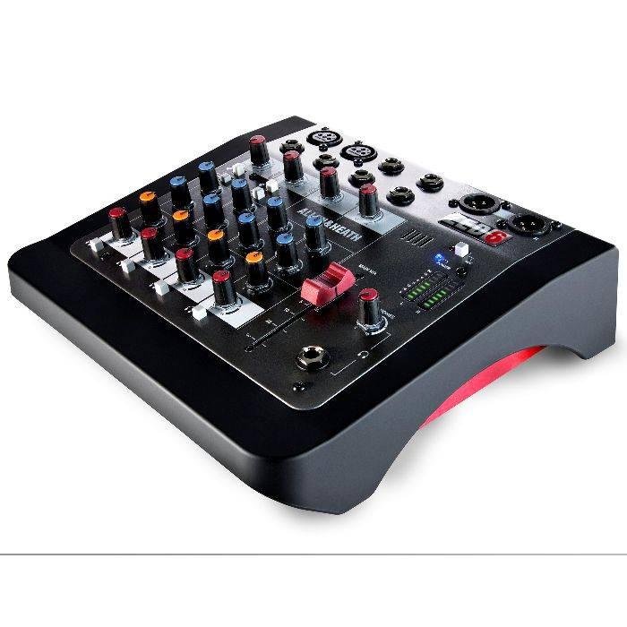 #(*)mixer 2 Canales Mic/line,2 Estereo Compatible Con Mp3, Eq De 2 Bandasx Canal