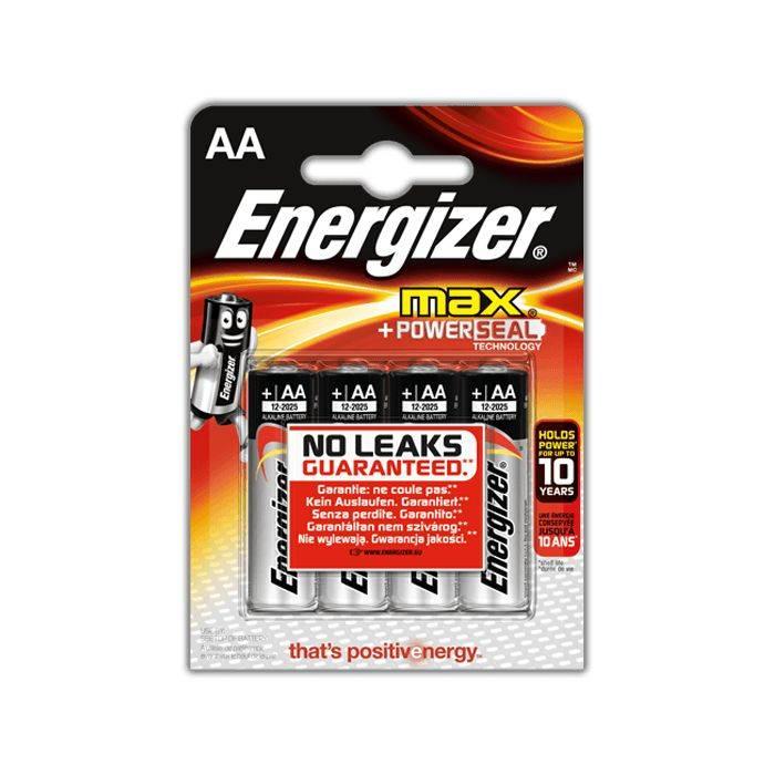 Pila Energizer Aa  E-91 Blister  4pcs