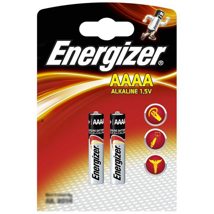 Pila Energizer Aaaa E-96 Blister 2pcs