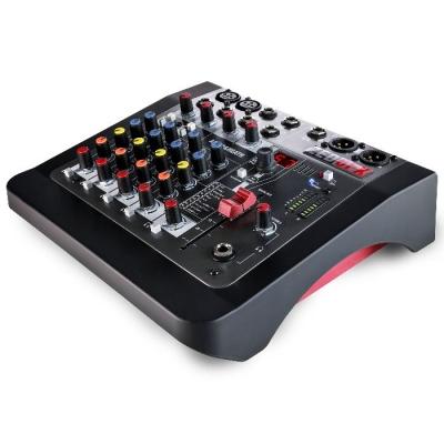 #(*)mixer 2canales Mic/line, 2 Estereo Compatible Con Mp3, Eq 2 Bandas Por Canal