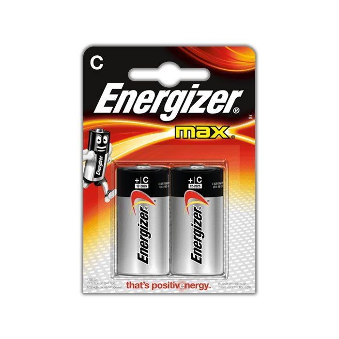 #pila Energizer C2  E-93 Mediana Blister 2pcs