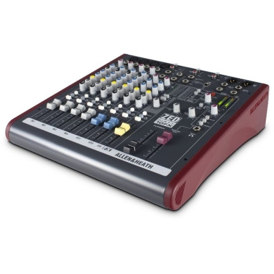 #(*)mixer 4 Ch Mic/line, 2 Estereo , 2 Aux, Usb In/out, Phantom 48v,fader 60mm.