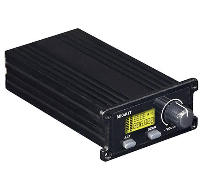 (*) Receptor De Uhf Para Microfono Mi04ub