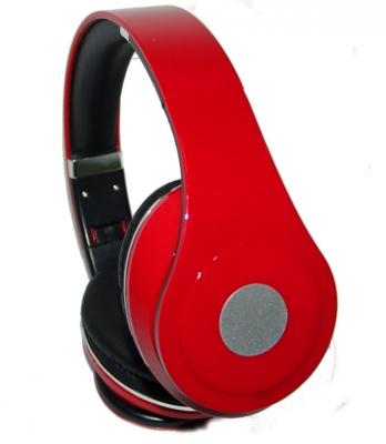 Auricular Alambrico Ma2330r Rojo