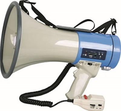 (**)megafono De 25w Con Puerto Usb/sd