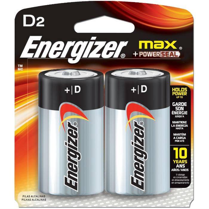 #pila Energizer D2 Grande  E-95 Blister 2pcs Precio Por Unidad