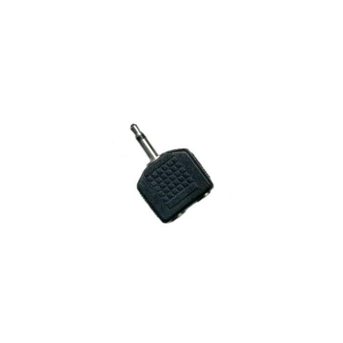 Plug Mono 3.5 2 Jack St 3.5