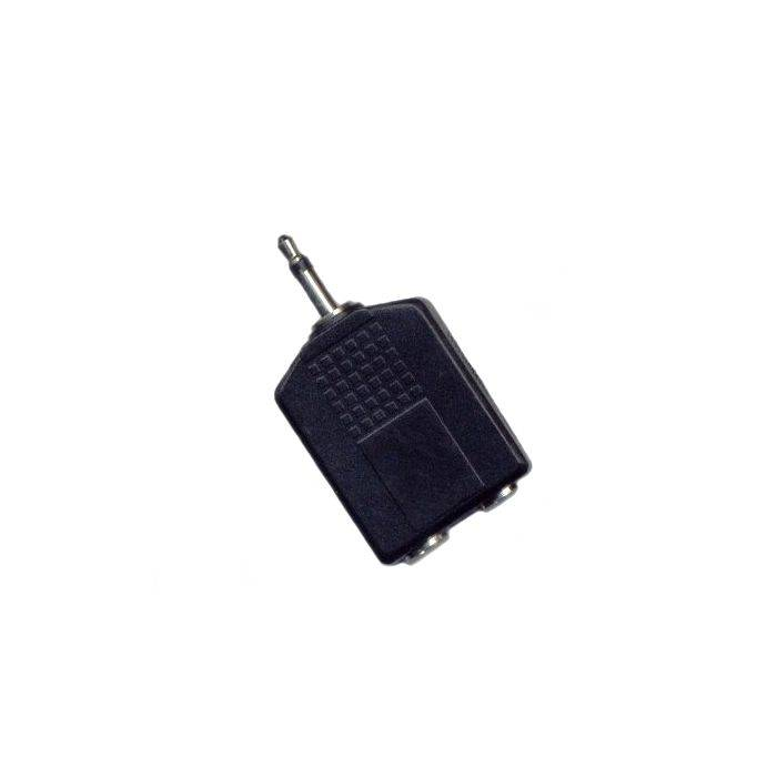 Plug Mono 3.5 2 Jack St 6.5