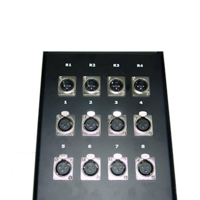 Pachera De 12 Canales 8 Envios  X 4 Envios C/cable De 30 Mts