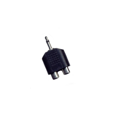 Plug Mono 3.5 2 Jack Rca