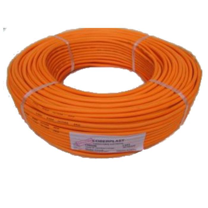 Cable Mic.6 Mm St. Fl.naranja