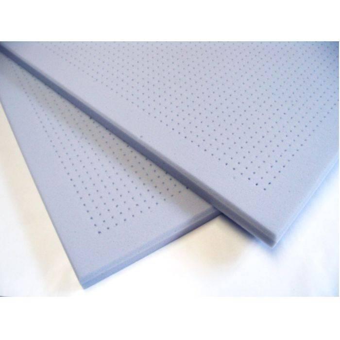 Microperforado. Medidas De La Placa: 61cm X 61cm. Espesor: 20mm. Ignífugo.