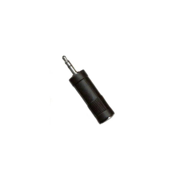 Plug St 3.5 Jack Mono 6.5
