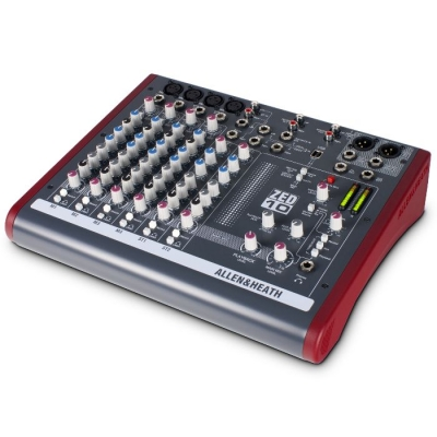 #(*) Mixer 4 Ch Mic/line, 2 Estereo , 2 Aux, Usb In/out, Phantom 48v,