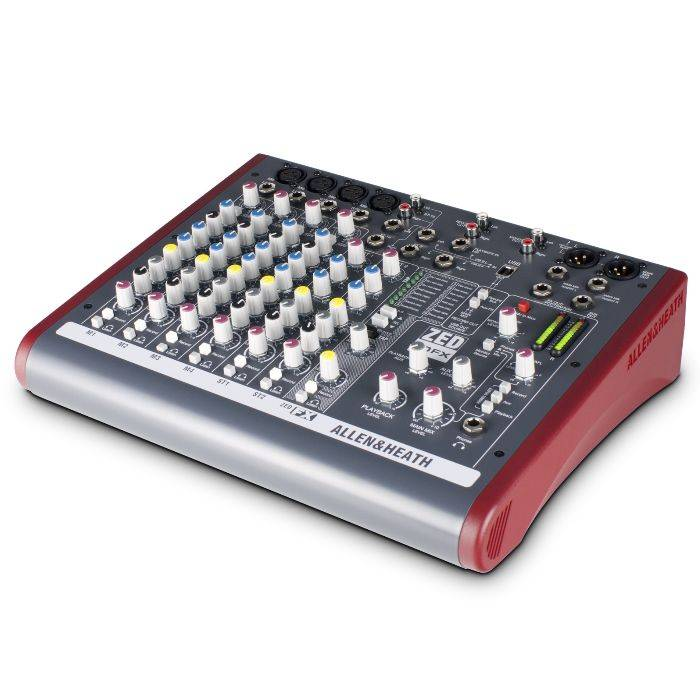 (*) Mixer 4 Ch Mic/line, 2 Estereo 2 Aux, Usb In/out, Phantom 48v.
