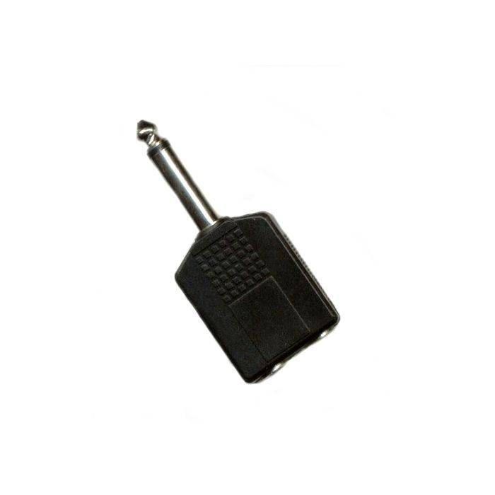 Plug Mono 6.5 2 Jack St 6.5