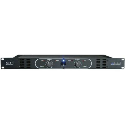 #100 Watt + 100 Watt Studio Linear Amplifier 1u Rack.