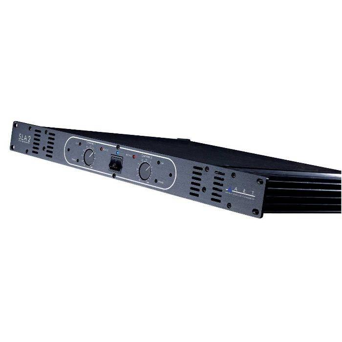 #200 Watt + 200 Watt Studio Linear Amplifier 1u Rack.
