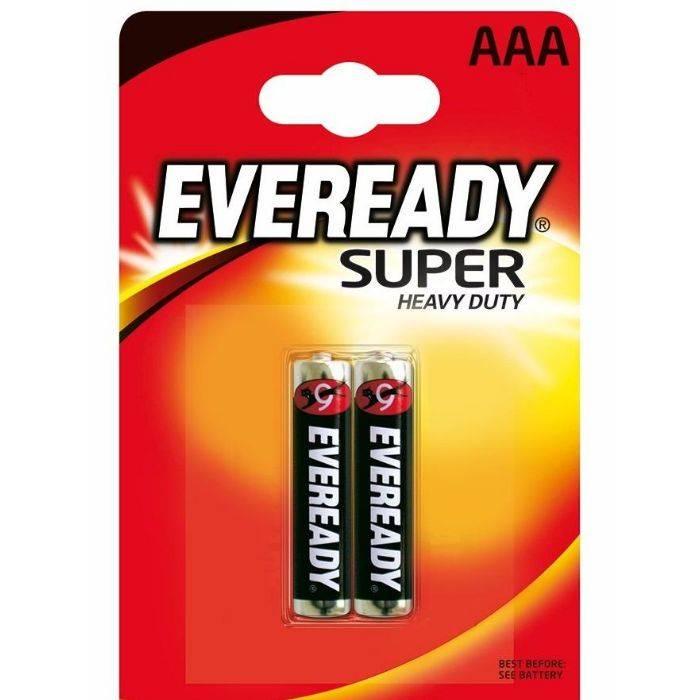 #pila Aaa Eveready 1212 Vta 2pcs Precio Por Unidad