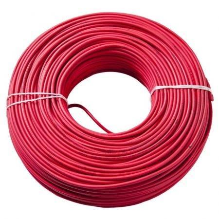 Cable Mic.6 Mm Mono Fl.rosa
