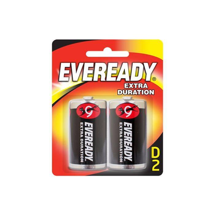 #pila Eveready Tipo D 1250 Blister 2pcs Precio Por Unidad