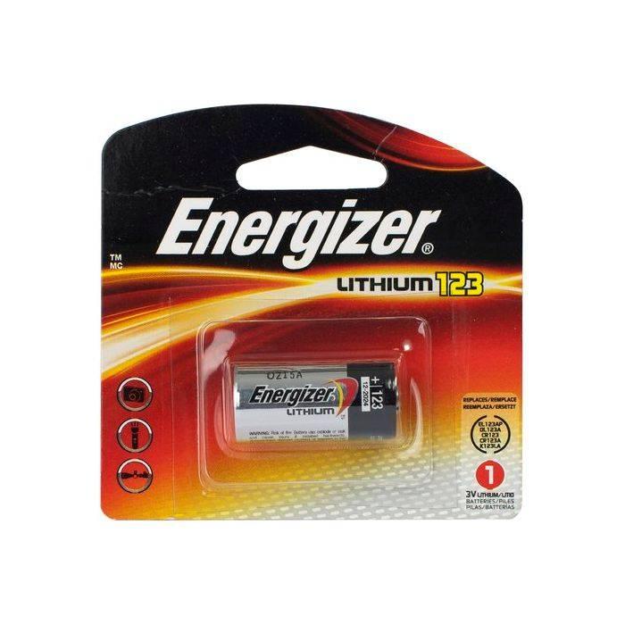 Pila Energizer 123 De Litio Para Fotografia