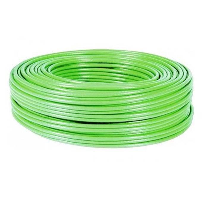 Cable Mic.6 Mm Mono Fl.verde