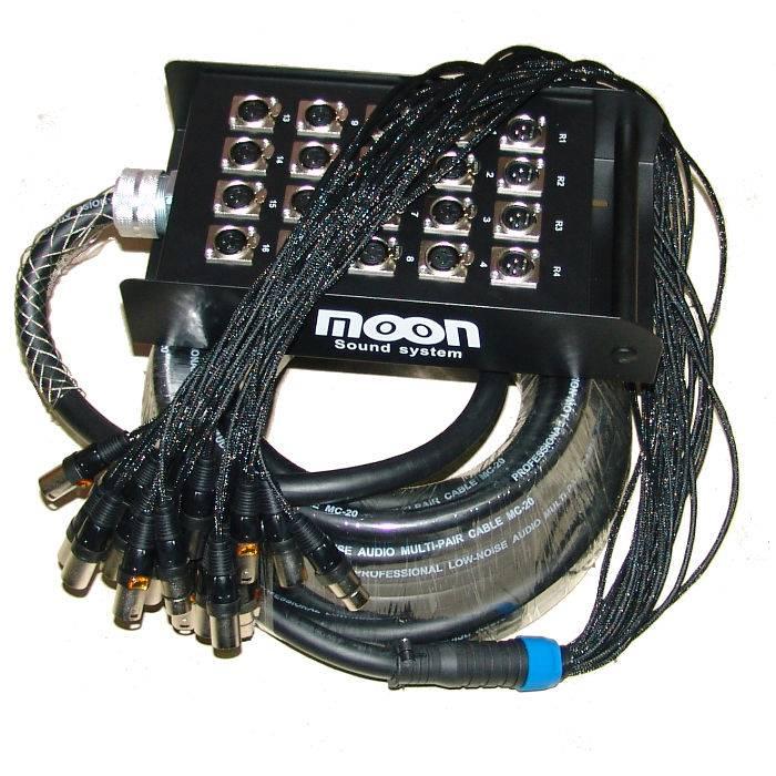 Pachera De 20 Canales (16 Envios Y 4 Retornos)  C/cable De 20mts