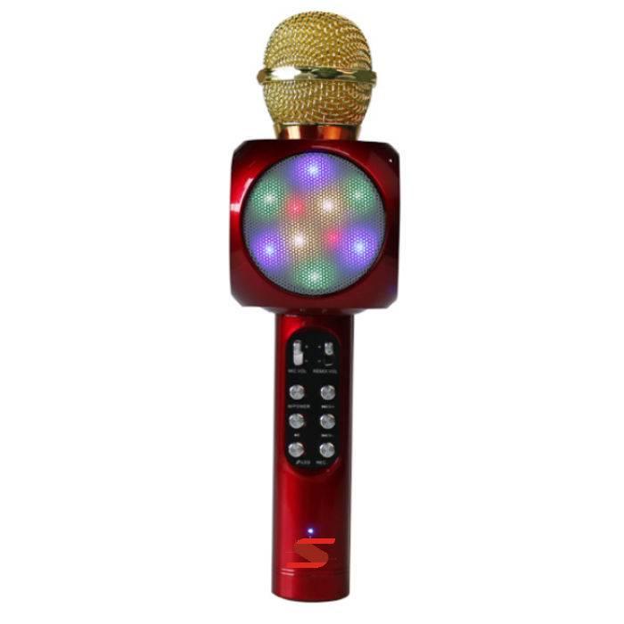 Microfono Inalamb.de Karaoke C/usb-rojo **