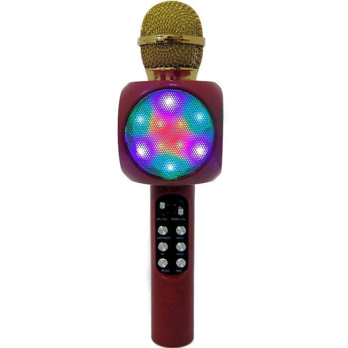 MicrÓfono Senon Q10 Con Bt - Karaoke - Puerto-fm-usb/tf- Bat. Y Estuche -negro**
