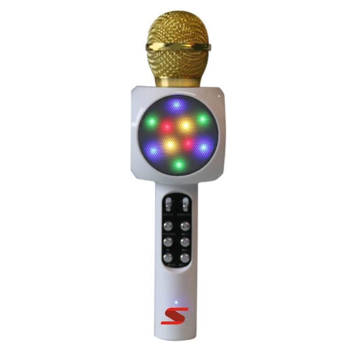 Microfono Inalamb.de Karaoke C/usb-blanco **